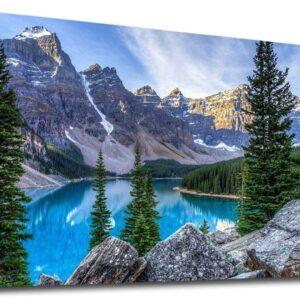 Glacier National Park Hidden Mountain Lake Wall Art