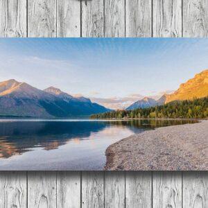 Glacier National Park Scenic Sunset Wall Art