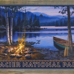Glacier National Park Sunset Print