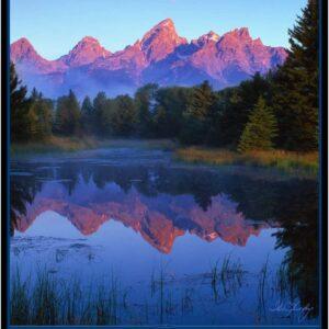 Grand Teton National Park Lake Print