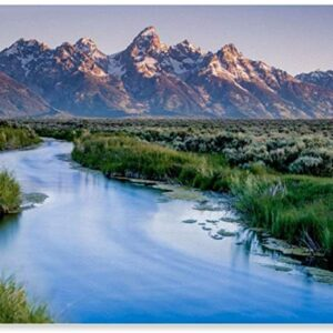 Grand Teton National Park Landscape Art Print