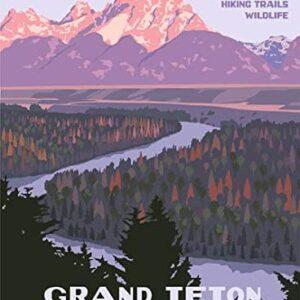Grand Teton National Park Rangposterer