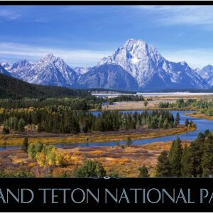 Grand Teton National Park River Poster