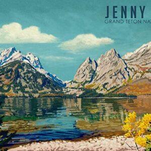 Grand Teton National Park Wyoming Jenny Lake Poster