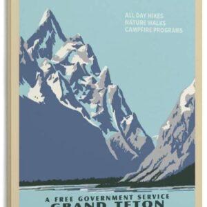 Grand Teton National Parks Canvas Print