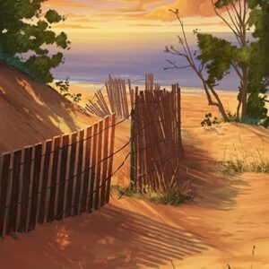 Indiana Dunes National Park Painted Poster
