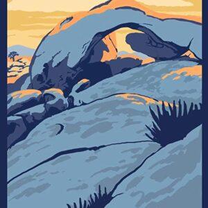 Joshua Tree Arch Rock Poster