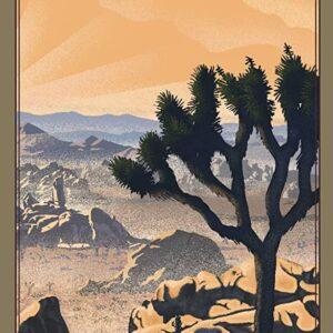 Joshua Tree National Park Lithograph Poster