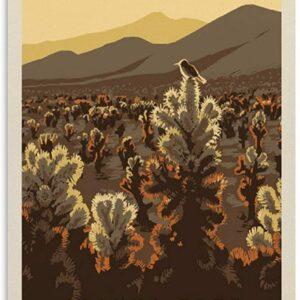 Joshua Tree National Park Vintage Poster