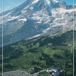 Mount Rainier National Park Paradise Valley Poster