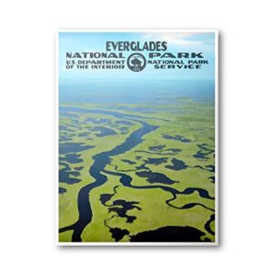National Park Service Everglades National Park Poster