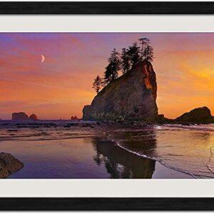 Olympic National Park Washington Sunset Print