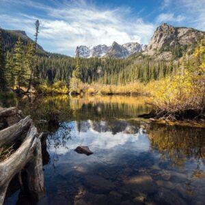 Rocky Mountain National Park Lake Wall Decor