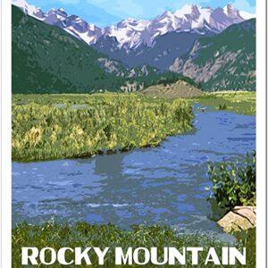 Rocky Mountain National Park Moraine Park Poster