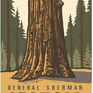 Sequoia National Park General Sherman Poster