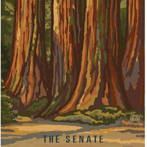 Sequoia National Park The Senate Poster