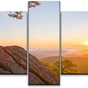 Shenandoah National Park 5 Piece Sunrise Photo