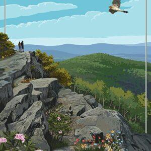 Shenandoah National Park Hiker Wall Decor