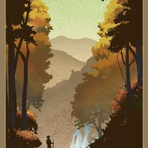 Shenandoah National Park Waterfalls Poster