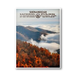 Us Doi Shenandoah National Park Poster