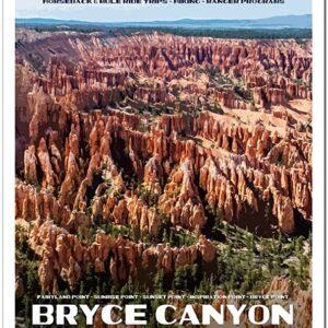 Usdi Nps Bryce Canyon National Park Poster