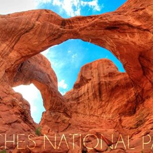 Utah Arches National Park Double Arch Print