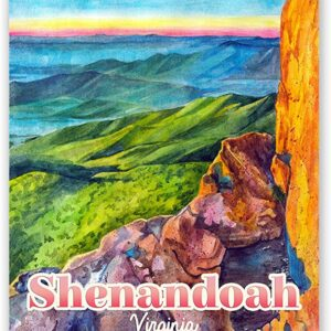 Vibrant Shenandoah National Park Print