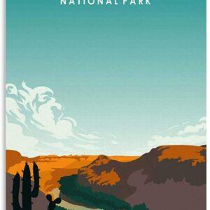 Vintage Big Bend National Park Poster