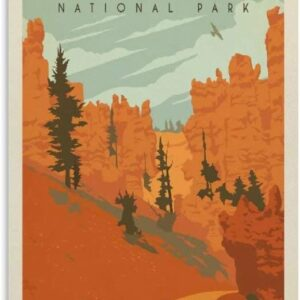 Vintage Bryce Canyon National Park Poster