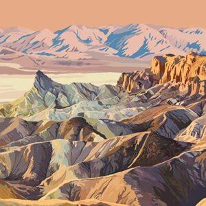 Vintage Death Valley National Park Poster