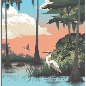 Vintage Everglades National Park Print