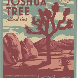 Vintage Joshua Tree National Park Poster
