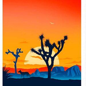 Vintage Joshua Tree Poster