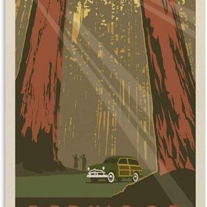Vintage Poster Redwood National Park Poster