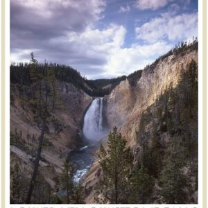 Yellowstone National Park Lower Falls Poster