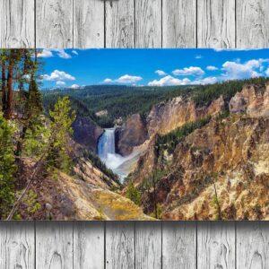 Yellowstone National Park Lower Falls Wall Art