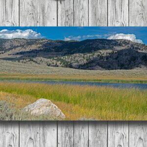 Yellowstone National Park Scenic Landscape Wall Decor