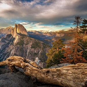 Yosemite Glacier Point Photo Print