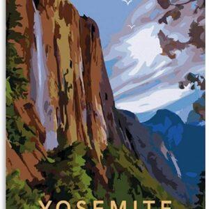 Yosemite National Park California Decorative Poster