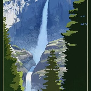 Yosemite National Park California Water Fall Picture