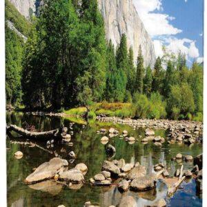 Yosemite National Park Lake Mountain Wall Art