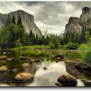 Yosemite National Park Lake Wall Art