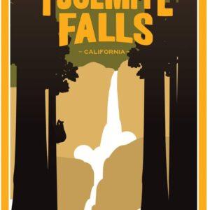 Yosemite National Park Yosemite Falls Poster