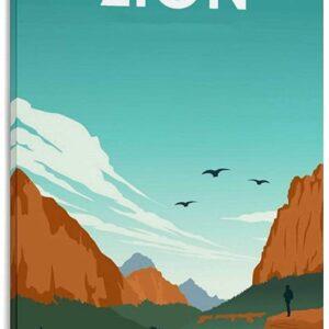 Zion National Park Decorative Art Print