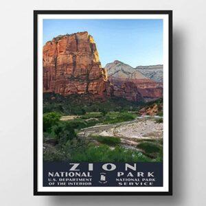 Zion National Park Wall Art