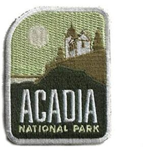 Acadia National Park Iron On Patch