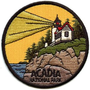 Acadia National Park Lighthouse Patch