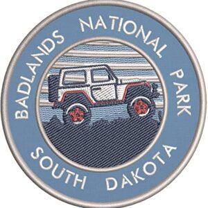 Badlands National Park Embroidered Patch
