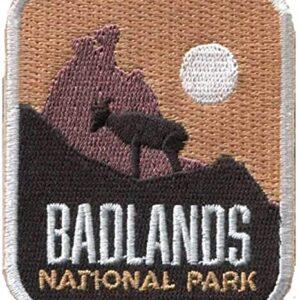 Badlands National Park Iron On Patch