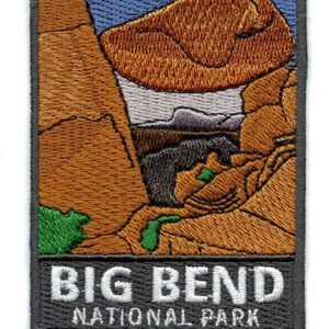 Big Bend National Park Embroidered Patch